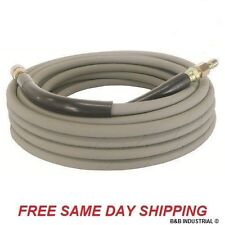50' Pressure Washer Hose Non-Marking - 4000 PSI, 50 ft Length W/ QC Industrial