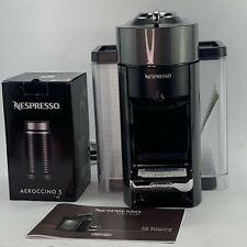 Nespresso De'Longhi ENV135BAE Coffee and Espresso Machine Bundle with Aeroccino3