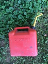 Vintage Chilton Gas Can Vented 5 Gallon Size Model P500 Pre Ban with Spout Local