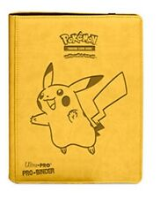ULTRA PRO Pokémon Pikachu 9-Pocket Premium PRO-Binder 360 Card Storage Folder