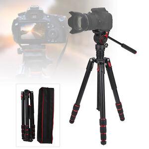 Miliboo Hydraulic Ballhead Tripod Panoramic Shooting for Canon Nikon Sony Camera