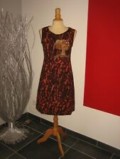 ROBE BRODée SEQUINS EMBROIDERED DRESS SAVE THE QUEEN T XL 40 42 UK 12 14 NEUVE