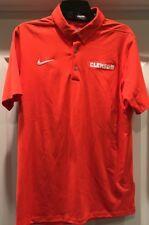 bc4433f7a126 Men s Nike Clemson Tigers Basketball Polo Shirt Medium NWOT 817820-888