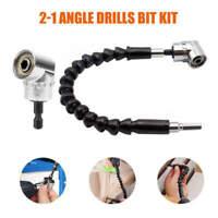 105° Right Angle Driver 1//4 Hex Shank Extension Drill Screwdriver Atta CRI