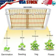 ZXMEAN 600W LED Light with UV and IR for Indoor Plants