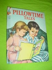 Vintage 1961 Rand McNally Elf Book ~ PILLOWTIME TALES #8338