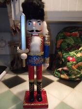 "NEW Nutcracker Figurine~~15"" Glittering Nutcracker~LAST ONE"