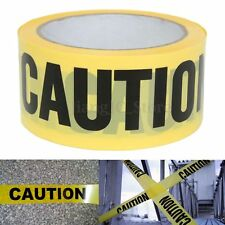 50mx5cm Roll Yellow Caution Tape Sticker for Safety Barrier Police Barricade