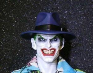 Custom 1/6 12 inch Killing Joke Joker Head Sculpt and hat unpainted Batman