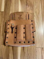 Buckingham Model 4126 Pouch Heritage Leather Lineman Pole Climb Belt Attachment
