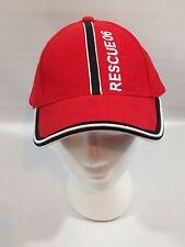 Ian Healy Cricketer RESCUE06 Australia Baseball Hat Cap RED - Geelong Lorne