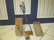 MONT BLANC JOUET ANCIEN POMPIERS AUTOMATE TELECOMMANDE DANS SA  BOITE RARE!!!!