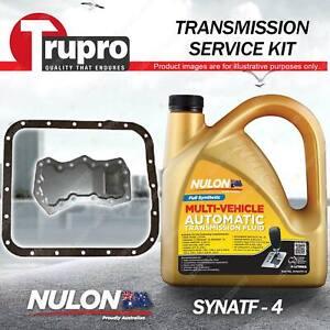 SYNATF Transmission Oil + Filter Kit for Subaru Forester SF SG Impreza Tribeca