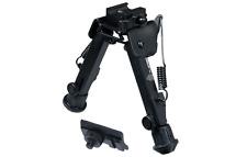 "UTG Super Duty Rifle Bi-pod Quick Detach Lever Lock, Center Ht: 6.0""- 8.5"""