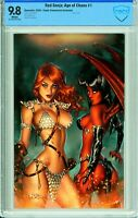 Red Sonja: Age of Chaos #1 Comic Connection Virgin Exclusive - CBCS 9.8!