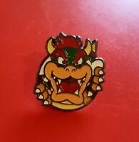 Mario Pin Bowser Pin Gaming Gamer Gift Pin Retro Mash Up Metal Brooch Badge