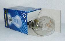 20 x 75 W clara bombilla incandescente E27 esférica Lámpara 75W rosca - nueva