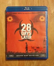 28 Days Later + 28 Weeks Later Very Good Blu-ray Lot BOTH DISCS IN 1 CASE - READ