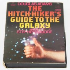 HITCHHIKERS GUIDE TO THE GALAXY read by Stephen Moore Cassette 1981
