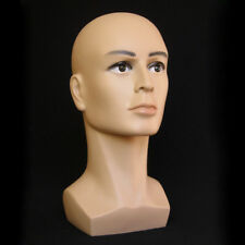 Coffee Color Male Mannequin Head Hat Display Wig Training Head Model Head Model