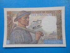 10 francs mineur 14-1-1943 F8/7 SPL