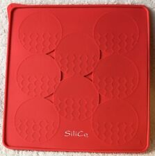 SiliCo Burger Press & Freeze 8 Circular Compartments Hamburg Silicone Mold