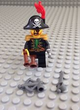 NEW / Lego Pirate Mini- Figure / Captain / Eye Patch / 70413 / Cutlass