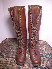 WW2-German DAK -  leather boots sz 6