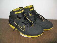 Nike 308475-003 Zoom Air Huarache 2K4 Size 10 US Black Yellow Shoes