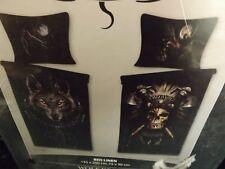 Spiral Direct BEDDING Duvet & Pillowcase UK WOLF DREAMS SINGLE