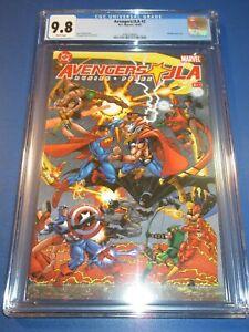 Avengers/JLA #2 CGC 9.8 NM/M Gorgeous Gem Superman vs Thor Wow