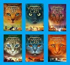 WARRIOR CATS, STAFFEL V, DER URSPRUNG DER CLANS, Band 1,2,3,4,5,6. Taschenbücher