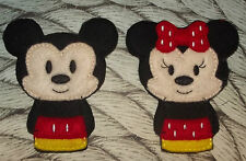 Handmade Finger Puppets - Minnie Mouse and Mickey Mouse - DISNEY