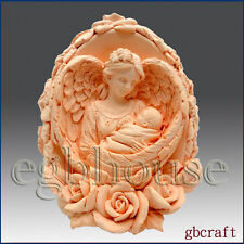egbhouse, 3D Silicone Candle Mold, soap mold – Mother Angel's Loving Wings