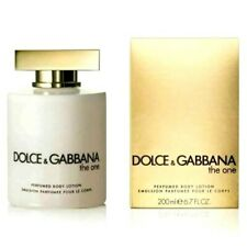 DOLCE & GABBANA THE ONE BODY LOTION 200ML - WOMEN'S FOR HER. NEW. FREE SHIPPING
