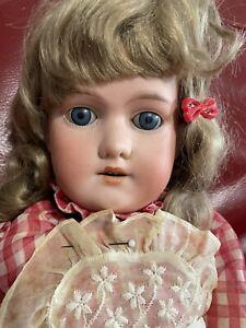 "George Borgfeldt Bisque Head 24-25"" Doll"