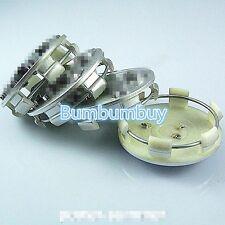New Set 4X For Peugeot Wheel Center Hub Rim Cap Grey 206 207 307 407 408 60mm