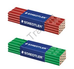 Staedtler Carpenters Pencils 148 HARD & MEDIUM or MIX OF BOTH *CHOOSE QUANTITY*