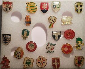 Soccer Football National Team Association Federation emblem Lapel Pin - New