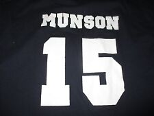 Vintage TND THURMAN MUNSON No. 15 NEW YORK YANKEES (LG) T-Shirt Jersey