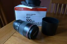 Canon EF 100mm F2.8l Macro Is USM Lens Grade a Works Perfectly