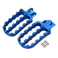For Husqvarna 701 Enduro Supermoto Wide CNC Footpegs Foot Peg Pedal with Bolts