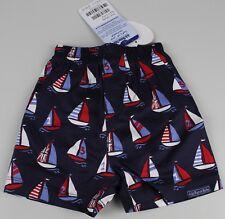 Jojo Mamam Kinder Bade Shorts Badehose Schwimmhose Boot 0-3M Schwimmwindel K27-B