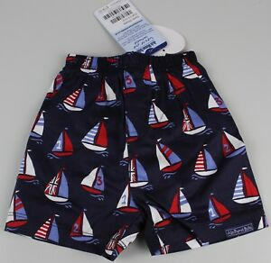 Jojo Mamam Kinder Bade Shorts Badehose Schwimmhose Boot 0-3M Schwimmwindel K22-B