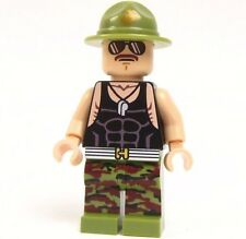 Lego GI Joe Custom - - - SGT. SLAUGHTER - - - Snake eyes Ninja Army Marine