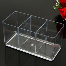 Acrylic Tank Three-Way Fighting Betta Fish Display Case Trap Aquarium Breeding
