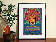 Jimmi Jimmy Hendrix Hendricks - A4 Glossy Poster - FREE Shipping