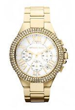 Analoge Armbanduhren aus Edelstahl mit Datumsanzeige