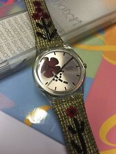 VINTAGE Swatch GENT GE181 Folkloral Chic  2006 New In Box  Artist