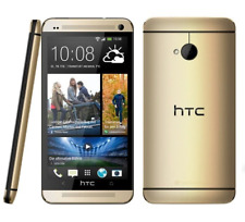 New HTC One M7 Unlocked Quad-core Smartphone - 32GB 4.0MP Android OS - Gold
